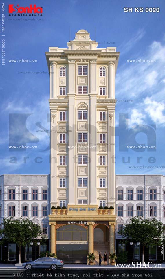 Khách sạn kiến trúc Pháp