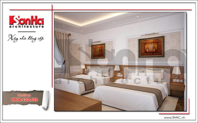 mẫu phòng ngủ khách sạn đẹp, tiện nghi
