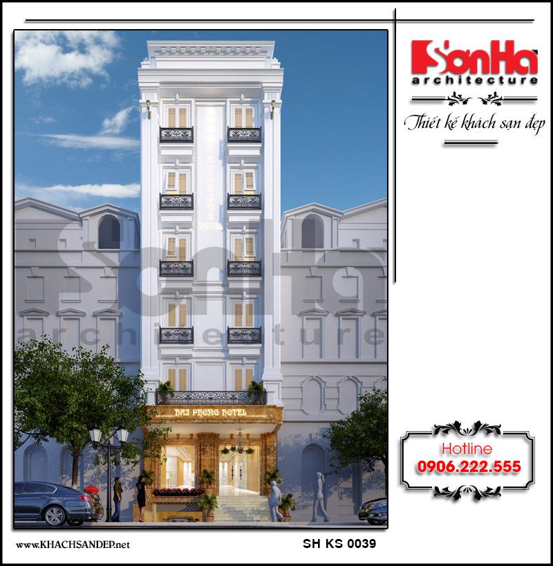 Toàn cảnh phương án thiết kế mặt tiền khách sạn đạt tiêu chuẩn 3 sao chinh phục mọi ánh nhìn của du khách khi đến với Quảng Ninh