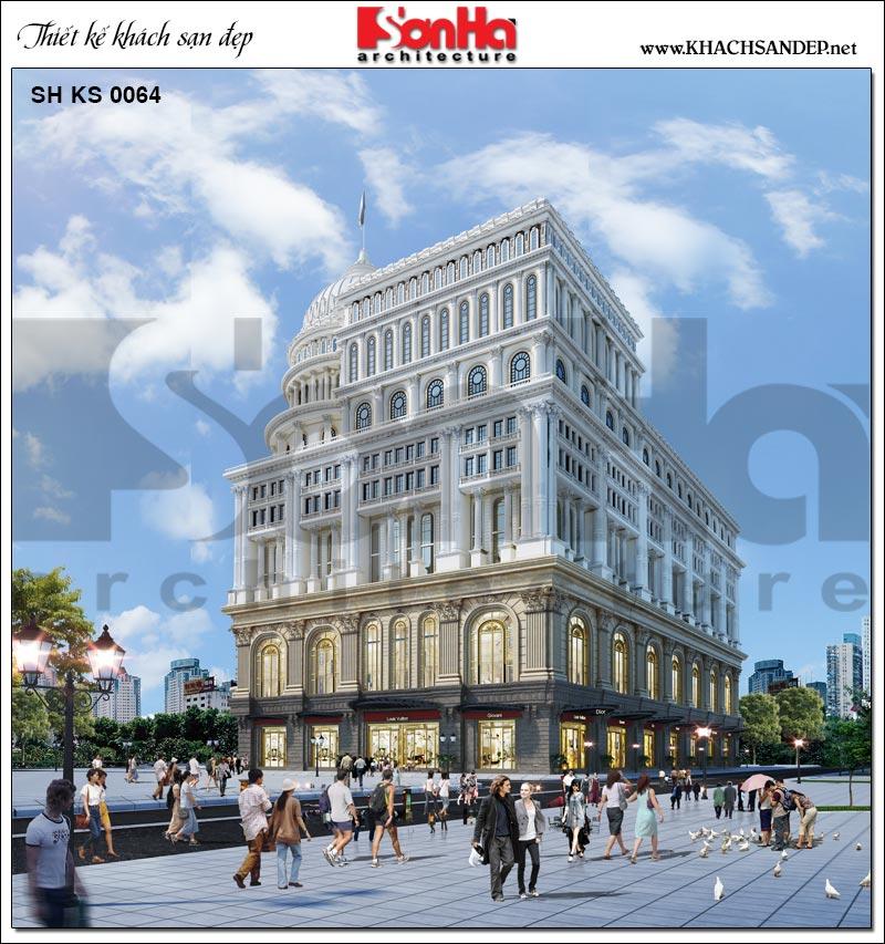 Từ mọi góc view trung tâm thương mại, dịch vụ, khách sạn5 sao thật nổi bật từ mọi góc view