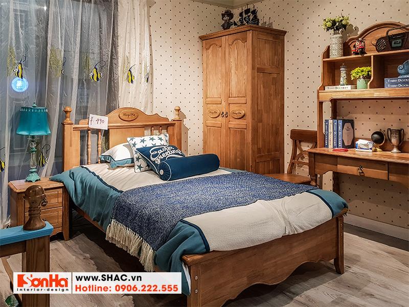 10 Mẫu giường ngủ gỗ tự nhiên chất lượng cao