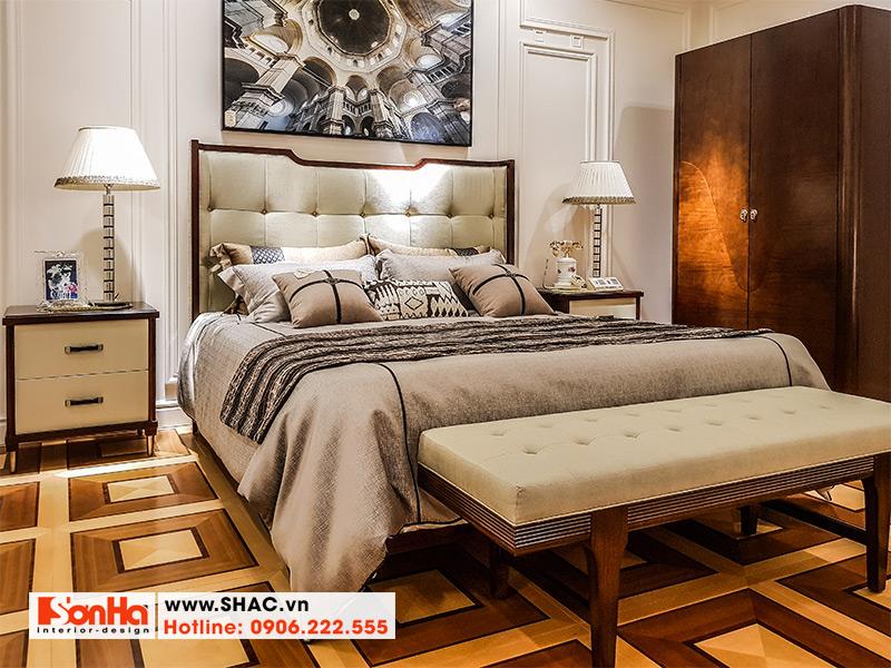 11 Kiểu giường ngủ bọc da cao cấp châu âu
