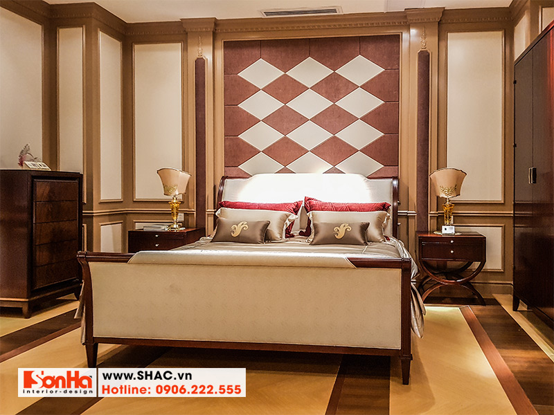 12 Bộ giường ngủ bọc da đẹp ấn tượng