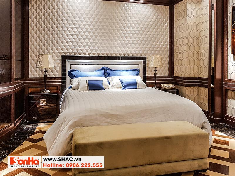 14 Kiểu giường ngủ bọc da thật cao cấp