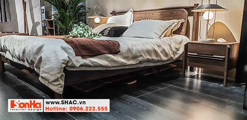 14 Kiểu giường ngủ gỗ tự nhiên cao cấp