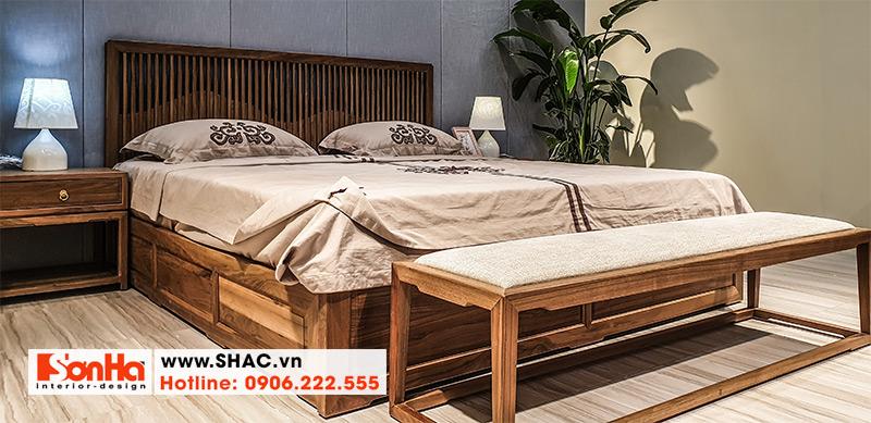 17 Kiểu giường ngủ gỗ thịt sang trọng