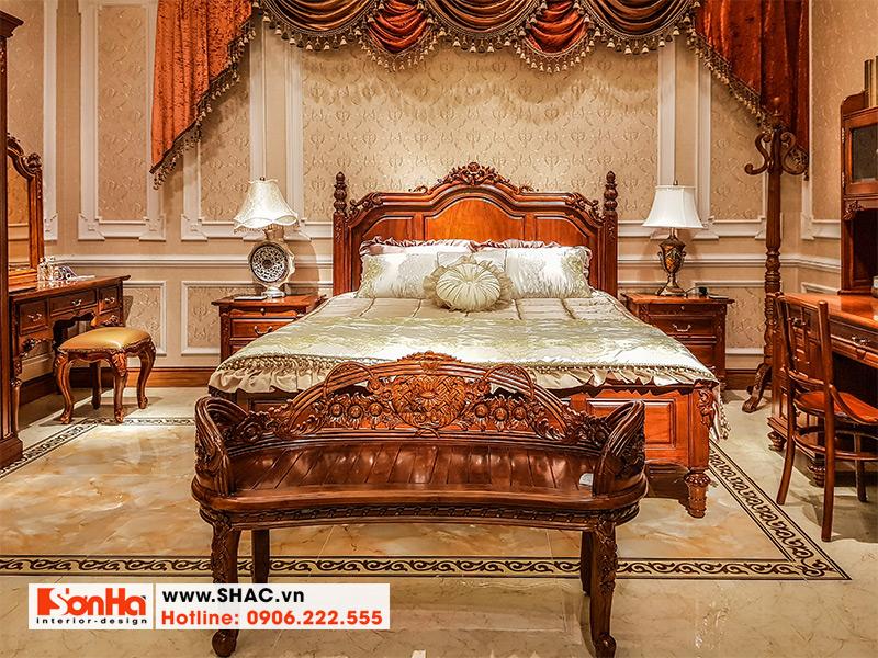 2 Kiểu giường ngủ cổ điển đẹp