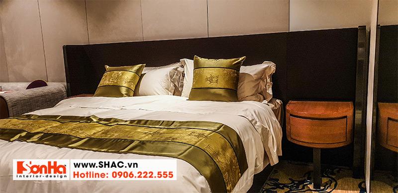 22 Mẫu giường ngủ gỗ tự nhiên cao cấp
