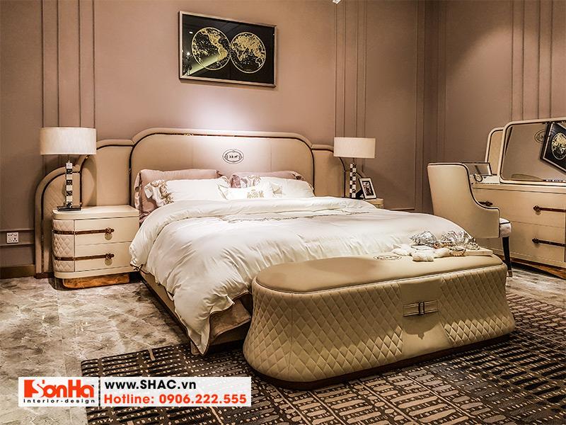 3 Bộ giường ngủ bọc da sang trọng