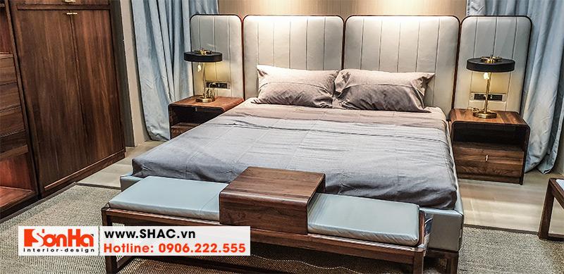 37 Kiểu giường ngủ bọc da sang trọng