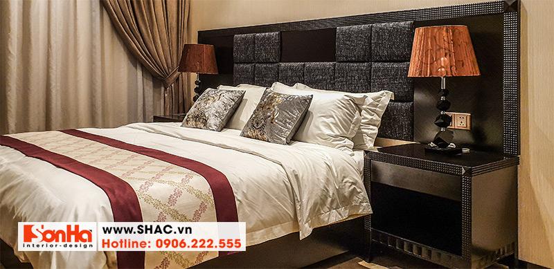 46 Kiểu giường ngủ bọc da chất lượng cao
