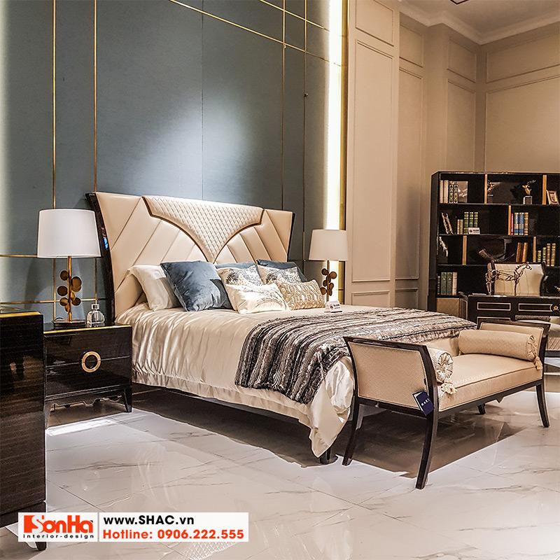 5 Kiểu giường ngủ bọc da đẹp và chất lượng