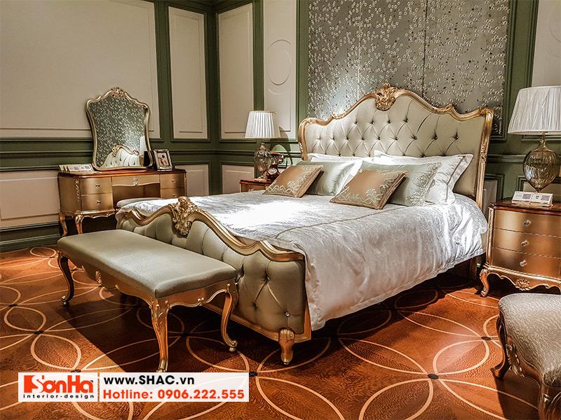 9 Bộ giường ngủ tân cổ điển đẹp