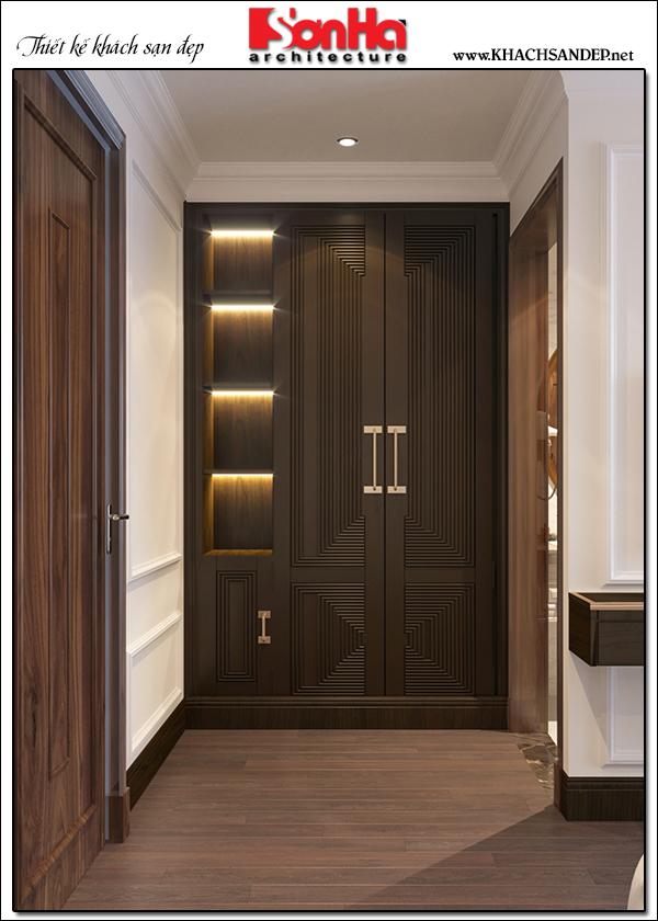 9 Không gian nội thất phòng thay đồ kiểu tân cổ điển tại quảng ninh