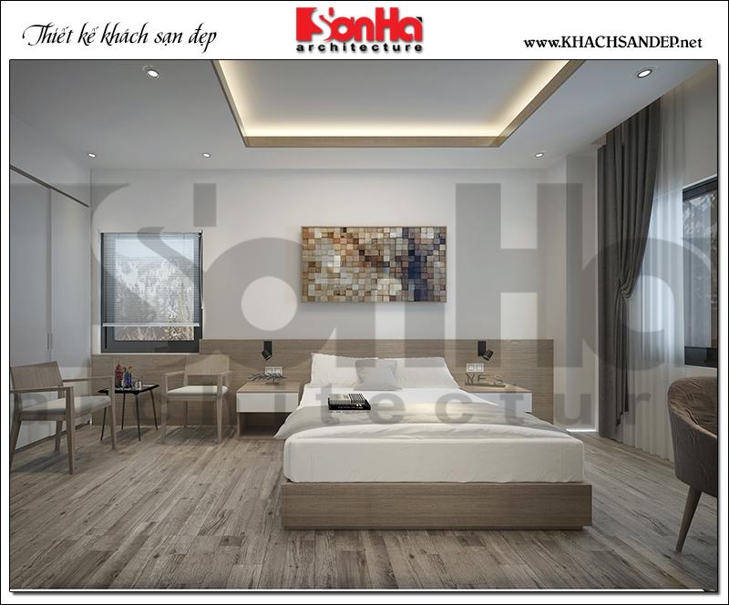 Cách bố trí nội thất phòng ngủ khách sạn 2 sao đẹp cũng là vấn đề tạo nên sự ấn tượng của căn phòng và là việc thu hút du khách.