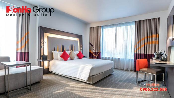 Một chiếc giường êm ái sẽ mang đến cho khách hàng của bạn sự thư thái, thoải mái như ở trong chính ngôi nhà của mình