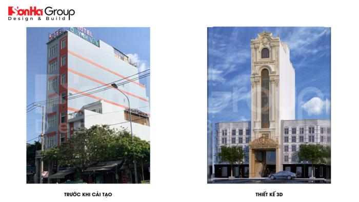 10 Hiện trạng kiến trúc khách sạn tân cổ điển 8 tầng tại sài gòn sh ks 0087