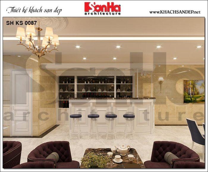 8 Thiết kế nội thất quầy rượu đẳng cấp tại sài gòn sh ks 0087
