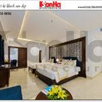 10 Mẫu nội thất phòng ngủ deluxe family khách sạn 4 sao tại đà nẵng sh ks 0032