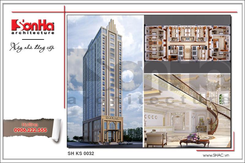 Khách sạn hiện đại 22 tầng