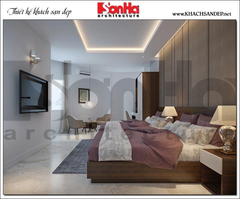 Mẫu thiết kế phòng ngủ khách sạn tiêu chuẩn 3 sao đẹp tiện nghi hàng đầu Việt Nam hiện nay