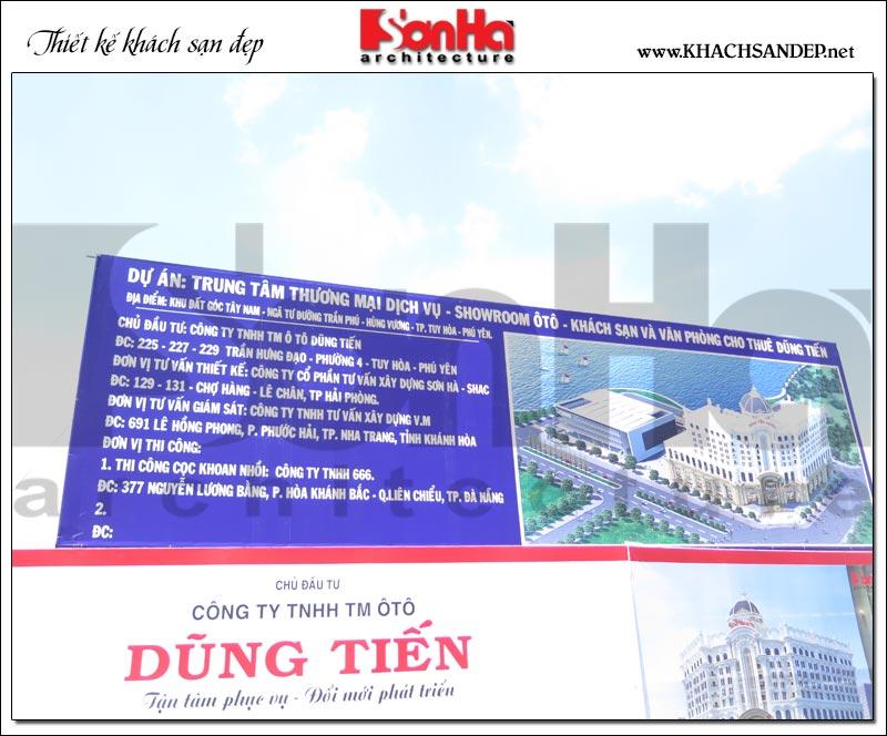 Thông tin các đơn vị tham gia dự án trung tâm TMDV ô tô, khách sạn và văn phòng cho thuê dũng tiến