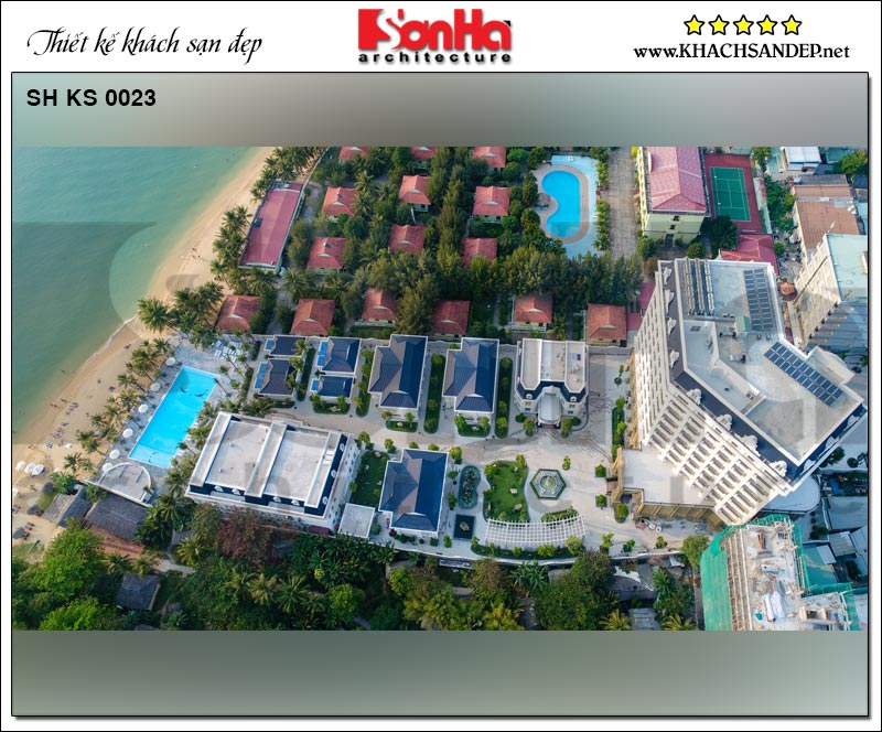 Toàn cảnh khu resort và khách sạn tiêu chuẩn quốc tế 5 sao tại Phú Quốc