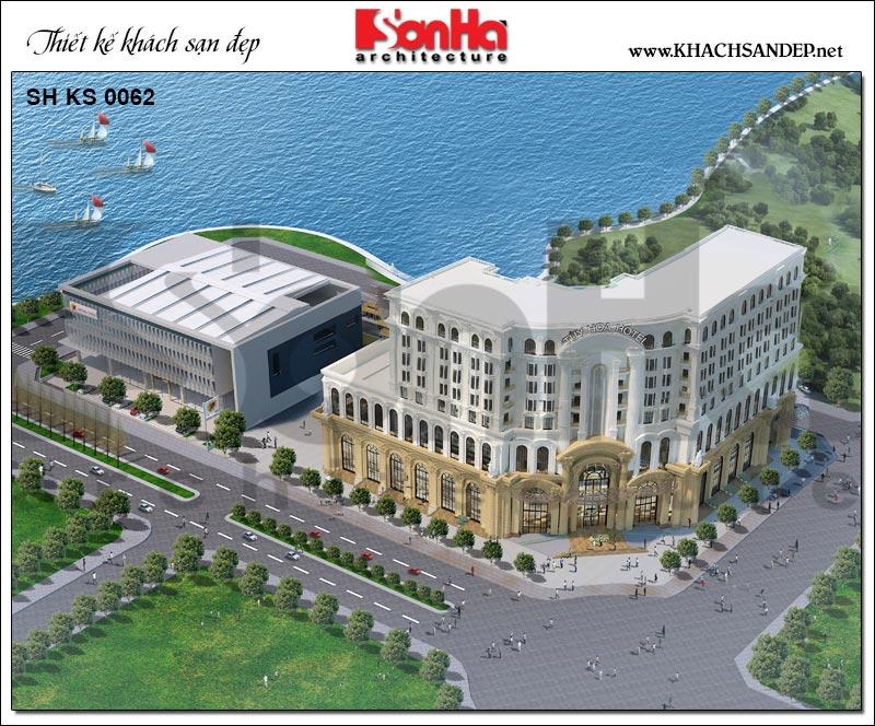 Dự án thiết kế Trung tâm TMDV ô tô, khách sạn và văn phòng cho thuê Dũng Tiến tại Phú Yên