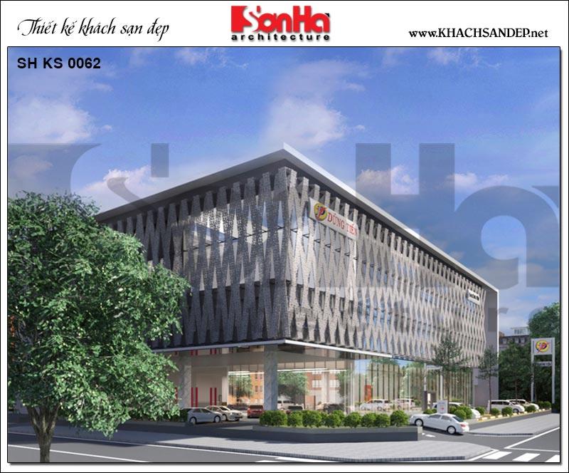 Phương án thiết kế showroom ô tô trong dự án trọng điểm tại tỉnh Phú Yên