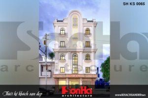 Bìa thiết kế khách sạn mini tân cổ điển 5 tầng mặt tiền 11m tại phú thọ sh ks 0065