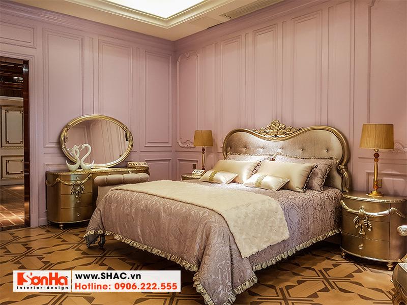 10 Mẫu giường ngủ tân cổ điển sang trọng