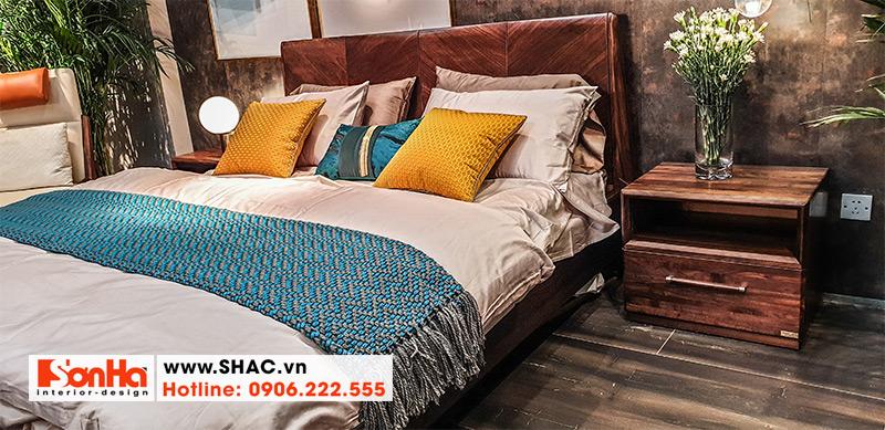 11 Kiểu giường gỗ thịt sang chảnh