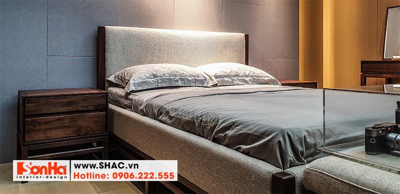16 Mẫu giường ngủ gỗ tự nhiên kiểu hiện đại