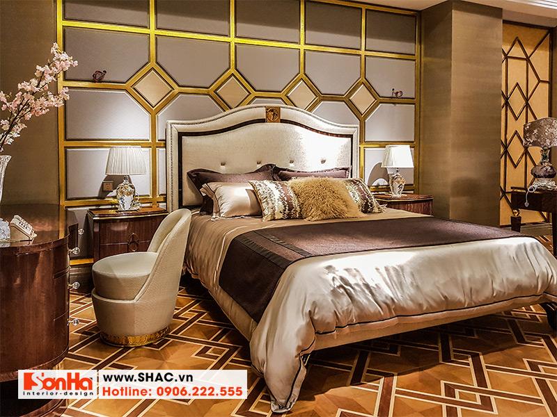 17 Kiểu giường ngủ bọc da đẹp và chất lượng