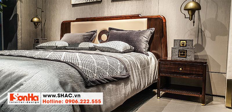 19 Mẫu giường ngủ gỗ thịt chất lượng cao