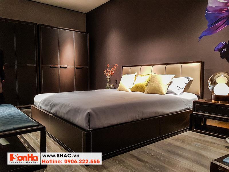 21 Mẫu giường ngủ bọc da sang trọng kiểu hiện đại