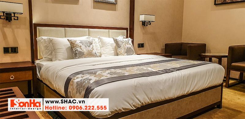 28 Mẫu giường ngủ gỗ tự nhiên sang chảnh