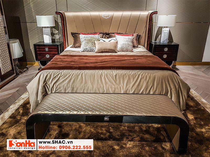 32 Bộ giường ngủ bọc da chất lượng cao