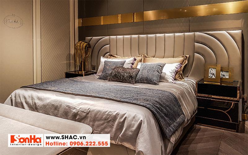 34 Kiểu giường ngủ bọc da sang chảnh