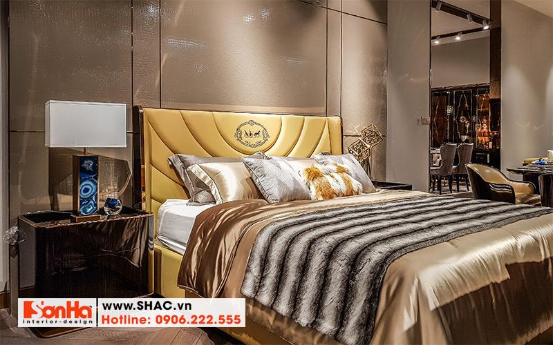 35 Bộ giường ngủ bọc da cao cấp