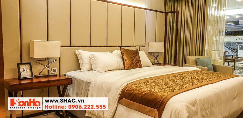 42 Mẫu giường ngủ bọc da hiện đại đẹp