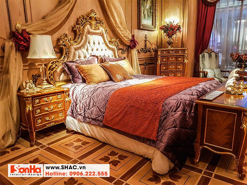 5 Kiểu giường ngủ cổ điển châu âu