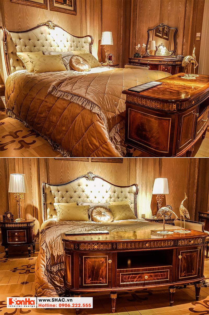 6 Bộ giường ngủ cổ điển độc đáo