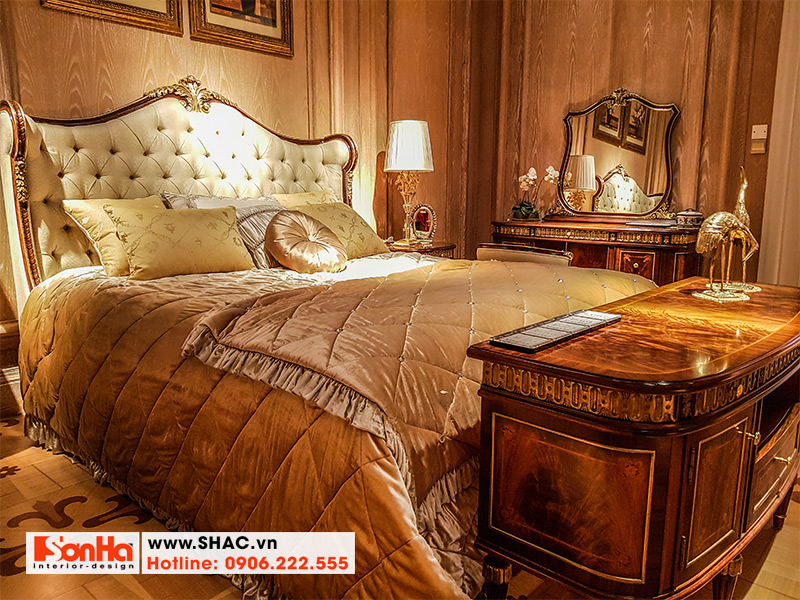 7 Mẫu giường ngủ phong cách châu âu