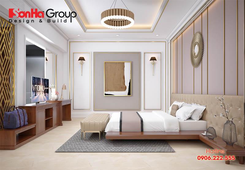 Vị trí đầu giường nên tránh nằm bên dưới thanh dầm của trần nhà. Quý vị có thể bị hiện tượng đè đầu, bóng đè, có cảm giác bị đè nén khi ngủ.
