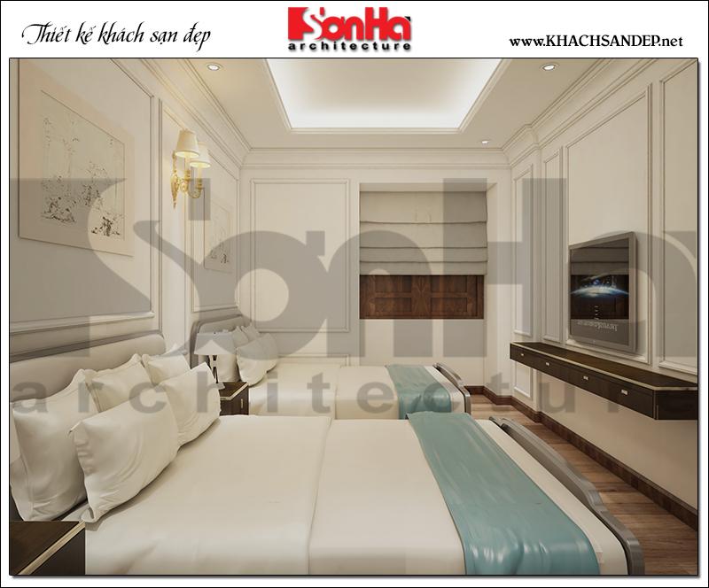 10 Mẫu nội thất phòng ngủ tầng tum khách sạn tại quảng ninh