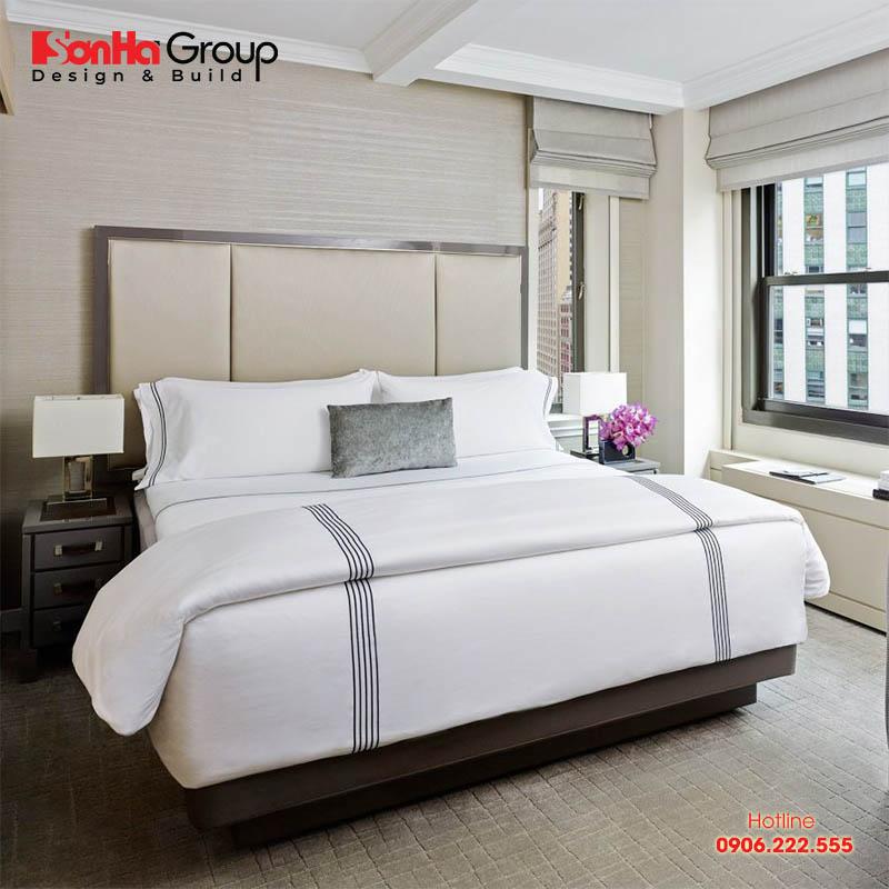 Các tính kích thước ga trải giường khách sạn