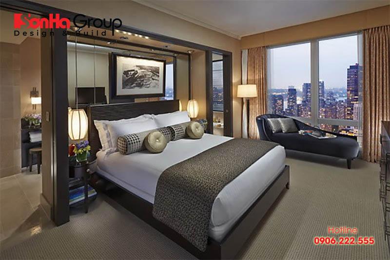Giường size Queen thoải mái cho cả 2 người nằm