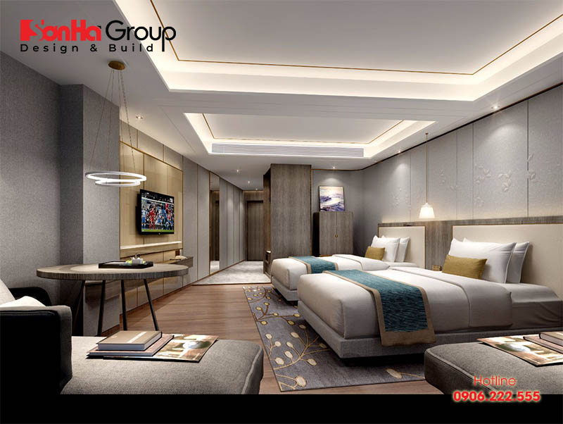Thiết kế phòng ngủ khách sạn đẹp đón đầu mọi xu hướng với 10 tuyệt chiêu đơn giản