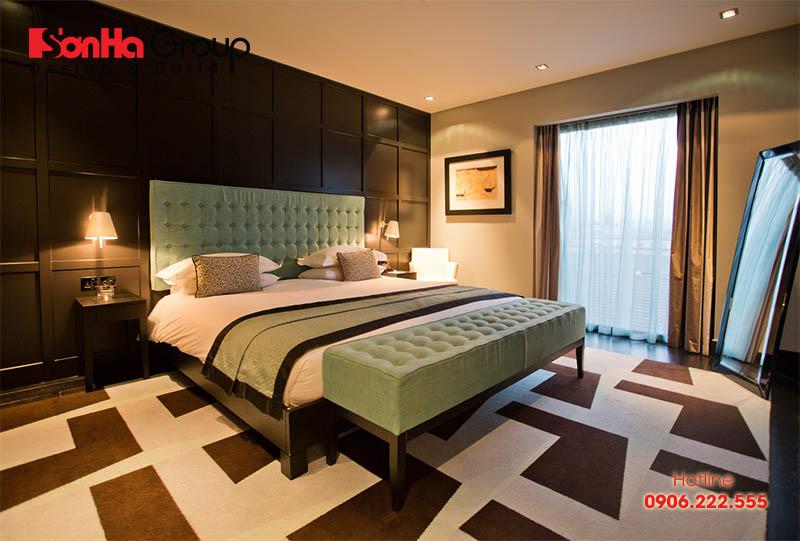 Bố trí phòng ngủ khách sạn đẹp, chuẩn phong thủy